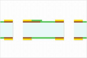 (2)両面プリント配線板